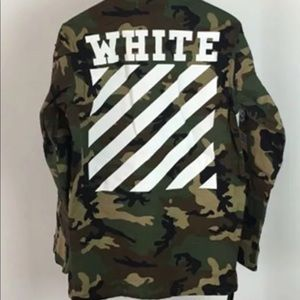 M65 Offwhite Camo Jacket